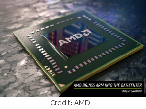 AMD's Opteron A1100 server chips are based on the ARM architecture